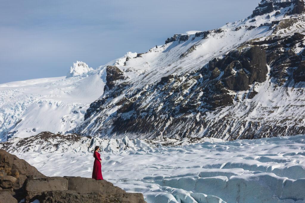 Laurel & Thor – adventure amongst glaciers